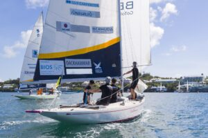Bermuda Gold Cup and Open Match Racing World Championship. 28th October 2020.